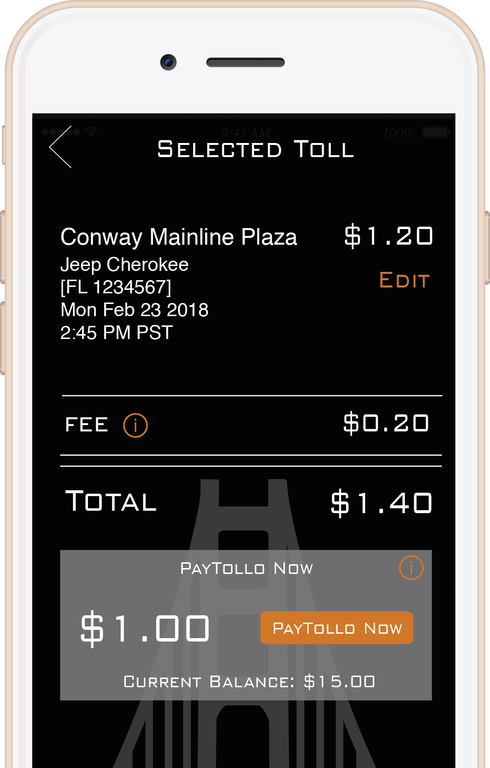 Pay Tolls Online Nyc >> Paytollo The Mobile App To Pay For Toll Roads